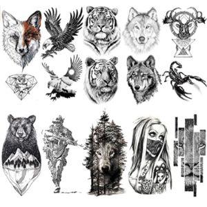 Vantaty Tattoo Design Tiger