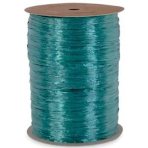 Celebrate Next Teal Raffia Ribbon