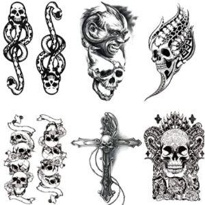 Lfdd Skull Tattoo Template