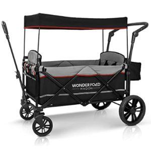 Wonderfold Lightweight Side Side Double Stroller