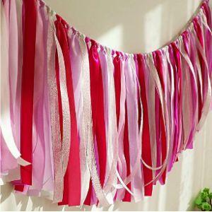 Bining Ribbon Tassel Garland