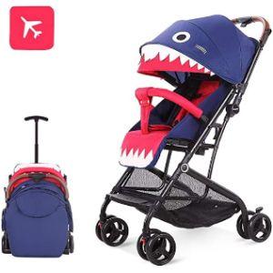 Wenhui Shark Baby Stroller