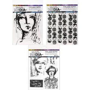 Dina Wakley Media Collage Tissue Paper