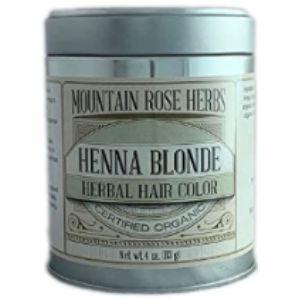 Mountain Rose Herbs Dye Blonde Henna Hair