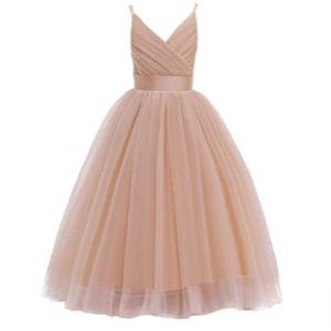 Glamulice Flower Girl Ball Gown