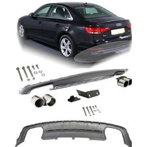 Eax Audi A4 B8 Rear Bumper Diffuser