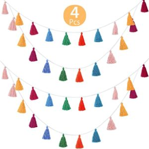 Willbond Tassel Garland Banner