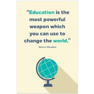 Printmeme Nelson Mandela Education Quote