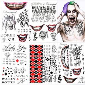Zomme Joker Tattoo Design