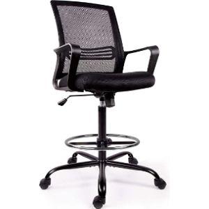 Smugchair Adjustable Rolling Kitchen Chair