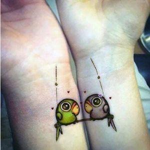 Initiative Letter Design Owl Tattoo