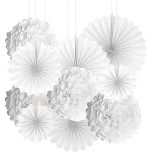 Aweson Party Paper Fan Flower