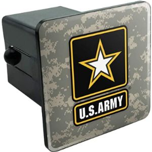 Graphics And More Army Trailer Hitch Cover