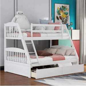 Merax S Bunk Bed End Ladder
