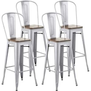 Mecor Bar Stool Chair Set