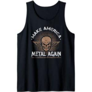 Make America Metal Again Designs Rock Metal Music
