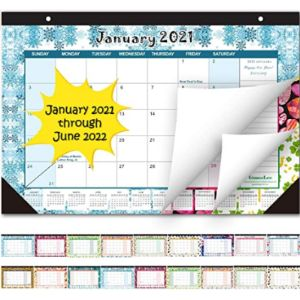 Oumuamua 11 X 17 Desk Pad Calendar