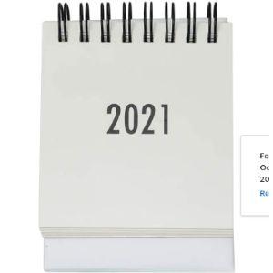 Multibey Mini Daily Calendar