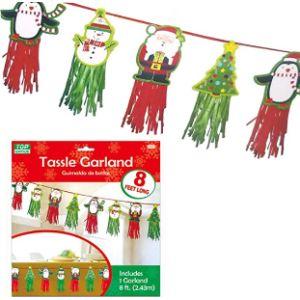 Tgrade Christmas Tassel Garland