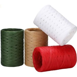 Visit The Boao Store Plastic Raffia Ribbon