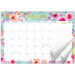 Sweetzer Orange Cute Desk Pad Calendar