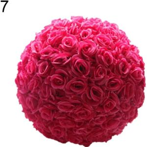 Schicj133Mm Pink Flower Ball