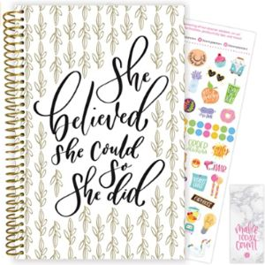 Bloom Daily Planners Template Academic Weekly Planner