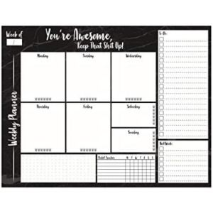 Smithstar Prints Weekly Schedule Organizer