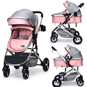 Infans Pink Toddler Stroller