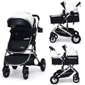 Infans Reversible Stroller With Car Seats