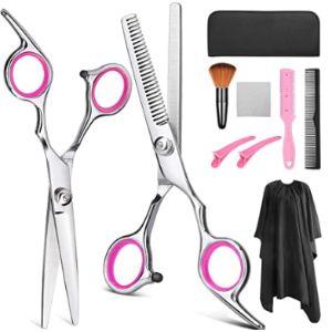 Yblntek Pink Hairdressing Scissors
