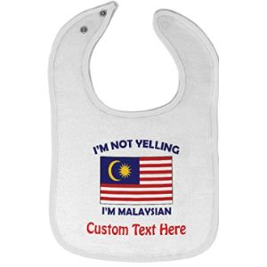 Cute Rascals Malaysia Baby Bib