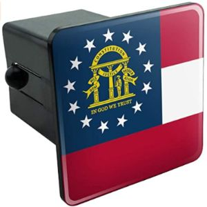 Graphics And More Georgia Trailer Hitch Cover