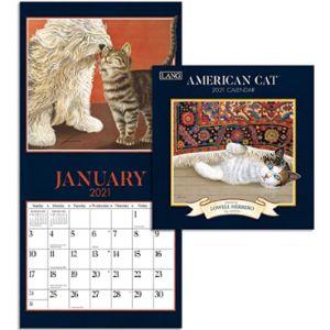 Lang Mini Cat Calendar