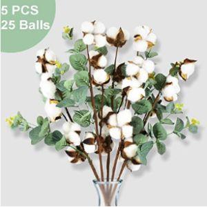 Pacetap Cotton Bouquet Ball Flower