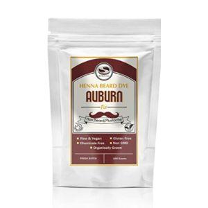 Henna Auburn Beard Dye