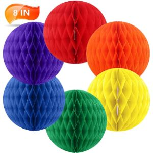 Bining Tissue Paper Ball Decoration