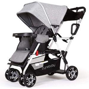 Inbaby Lightweight Stroller With Standing Platform