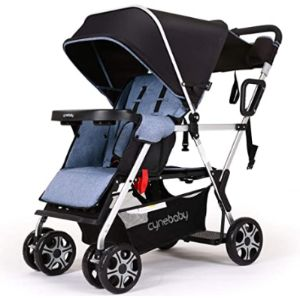 Inbaby Tall Toddler Double Stroller