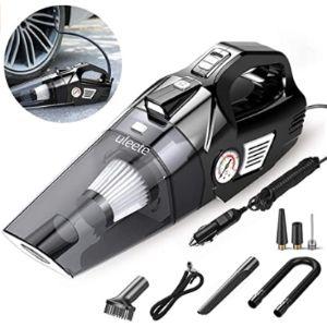 Uleete Car Vacuum Cleaner Air Compressor