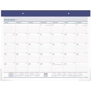 Ataglance Academic Year Desk Pad Calendar