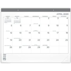 Mead Academic Year Desk Pad Calendar