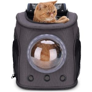 Lollimeow Cat Backpack Carrier Bubble