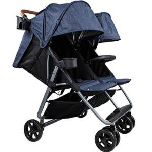 Zoe Lightweight Tandem Double Stroller