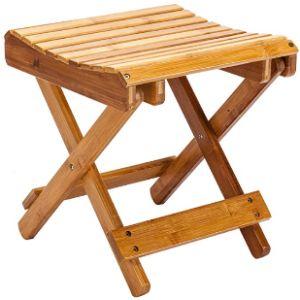 Tenozek Wood Spa Stool