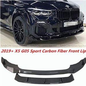 Deluxe Carbon Bmw X5 Front Spoiler