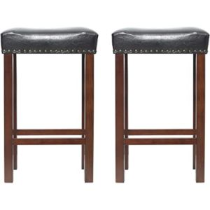Eclife Stool Leather Seat