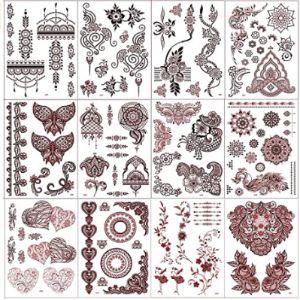 Xmasir Henna Tattoo Red
