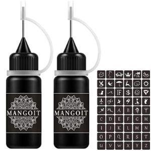 Mangoit Temporary Tattoo Ink Kit
