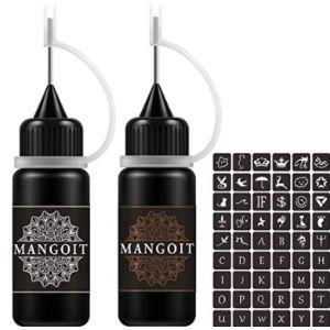 Mangoit Apply Tattoo Stencil